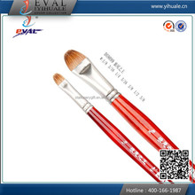 DS99099 glass painting supplies red animal hair artist brushes