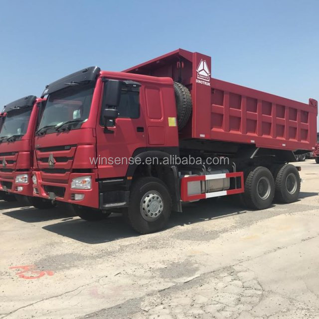 New And Military Quality Sinotruk Howo 6x4 Dumper Truck For Africa Market