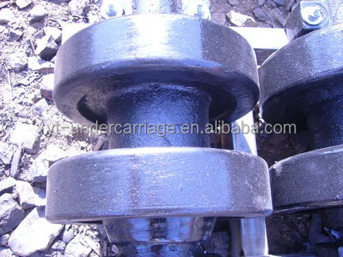IHI Track Rollers,CCH300/CCH400/CCH500/CCH700 Bottom Roller,Crawler Crane Undercarriage parts