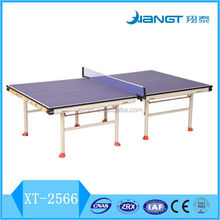 2016 new design 25mm Indoor foldable table tennis table