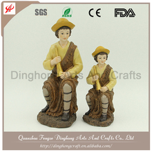 Wholesale Cheap Indoor Decorative Polyresin Religious Nativity Sets Catholic Statue
