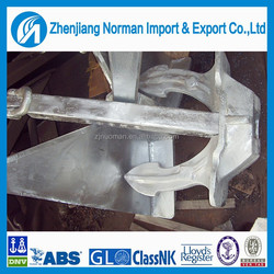 Hall type Anchor,steel casting type A B C Hall anchor,ship anchors with good price