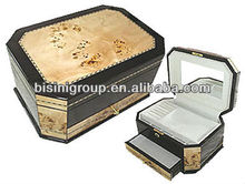Bisini Wooden jewelry box gift box necklace box