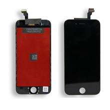 Good quality Mobile phone spare parts for alcatel touch screen digitizer glass panel for iphone 6G