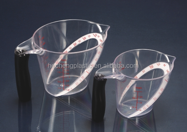 250ml/500ml acrylic measuring cup