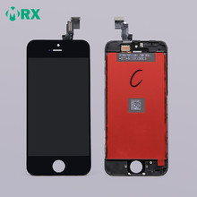 Shenzhen China mobile phone lcd manufacturer Complete lcd screen + digitizer + assembly for iPhone 5c