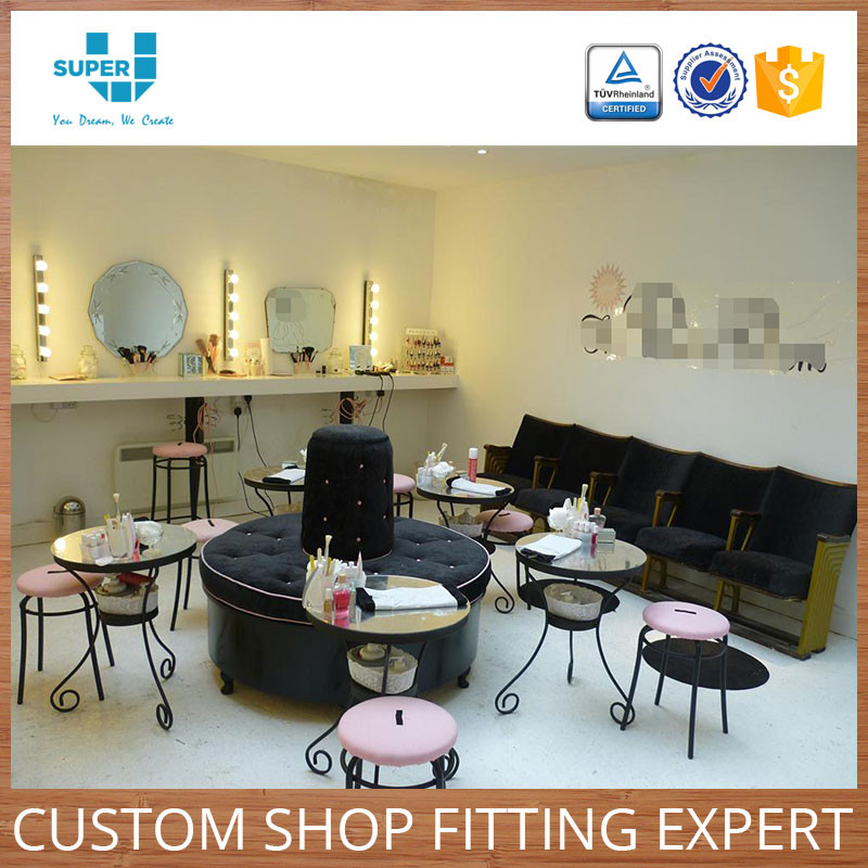 Best Custom Luxury Shopfittings Store Fixtures Nail Salon Furniture Manufacturer