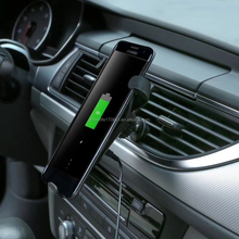 5V 2A 9V 1.8A QI wireless car charger for Samsung and iphone