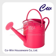 Metal Round Watering Can Tube with Galvanized Steel Watering Can Cheap Metal Watering Can
