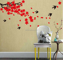 swallow happy mural 3d wall sticker decor kids room