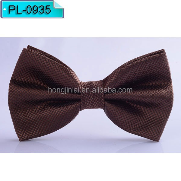 Sienna Micro fiber bow tie polyester beautiful style bowtie PL0935