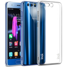 Imak Super Clear Crystal PC Plastic Hard Back Cover Case For Huawei Honor 9 Smart Phone