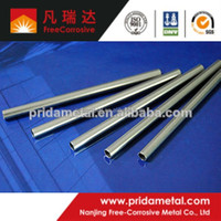 High quality ASTM B338 GR2 Titanium and Titanium pipe with OD 2.0mm~110mm for sale