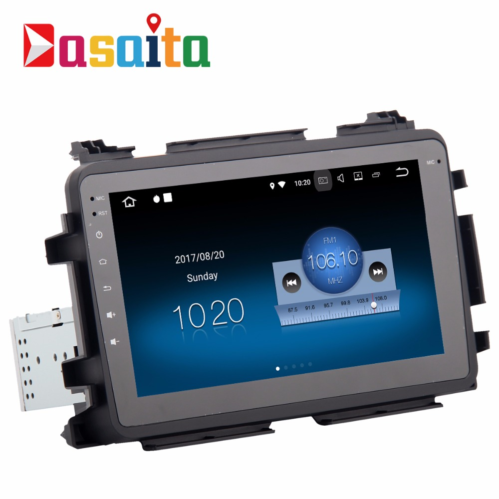 "Dasaita 8"" size touch screen android 7.1 quad core car dvd player gps navigation for Honda Vezel HR-V HRV 2014-2017"