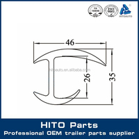 Cargo Truck Box Trailer Body Parts Door Seal, Truck Spare Parts