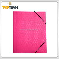Chinese Manufacturer beautiful file folder,corrugated office document folder,a4 plastic folders