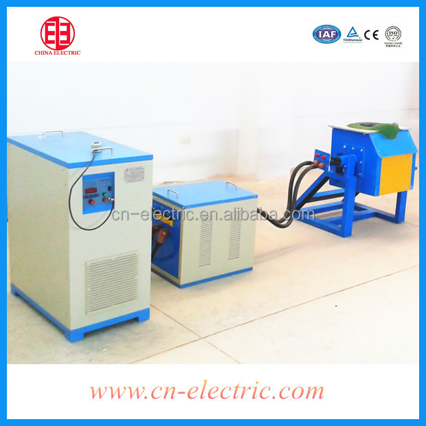 Small Steel,cast iron induction smelting furnace/oven