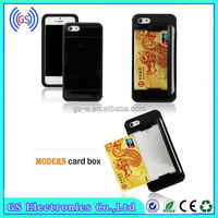 cell phone credit card holder new arrive fashion cell phone credit card holder for ipone 5S