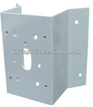 Custom Precision Zinc Die-Cast Dome Corner Mount Bracket