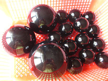 Hot!!! Natural obsidian rough rock crystal decorative crystal balls,obsidian rock for sale