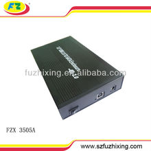 portable external hdd casing 3.5 sata hdd hard drive external case 480mbps 2TB