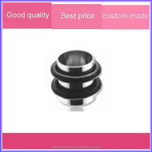 Custom body piercing stainless steel flesh tube to ear plug jewelry