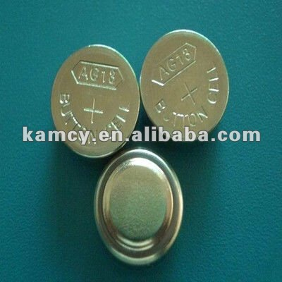 A13 watch button cell battery 1.5v Alkaline button cell
