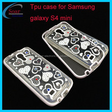 Hot selling PC frame +tpu case for Samsung galaxy S4 mini, tpu back cover case for Samsung galaxy S4 mini