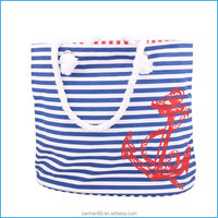 Online shopping heavy duty large 12oz canvas tote bag, canvas beach bag
