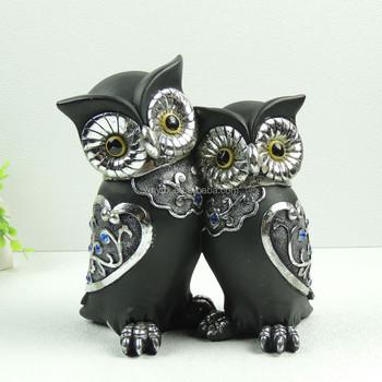 Wedding Gifts Wedding Decoration Items Couple Owl Figurine