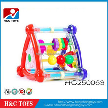 2015 New products funny baby enlighten toys plastic intelligence frame HC250069