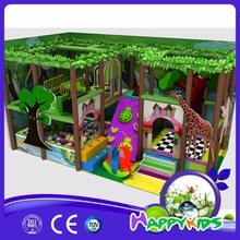 Animal center funny kids plastic indoor playground equipment