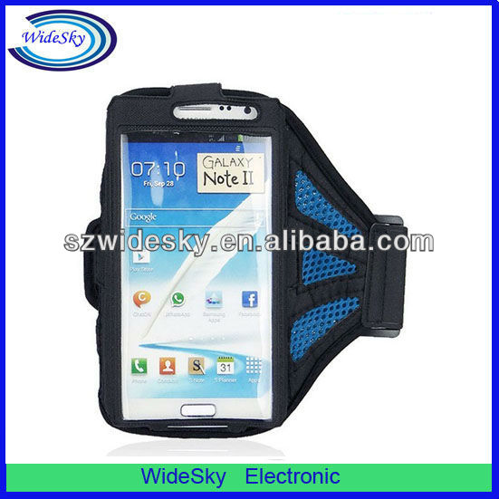 Sport Mesh Fabric Armband Case for Samsung Galaxy Note 2/N7100