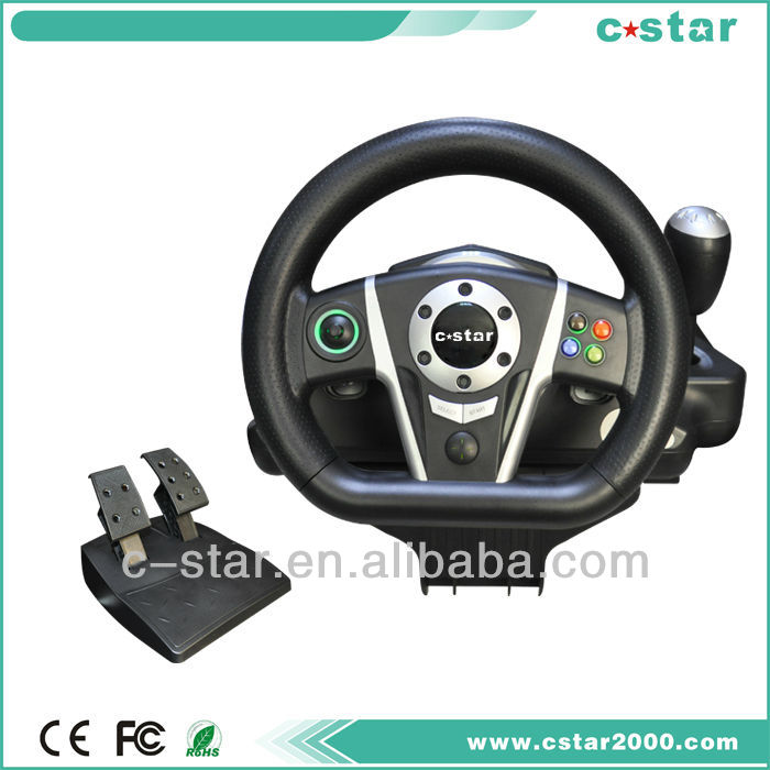 2018 bluetooth game steering wheel, racing game steering wheel