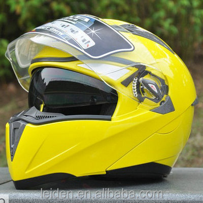 motorcycle jet helmets FLIP UP full face shoei helmet with double visor motorcycle helmet TN8615 GLOSS COLOR