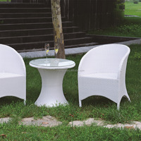 Pure youth table and chair set rattan coffee set