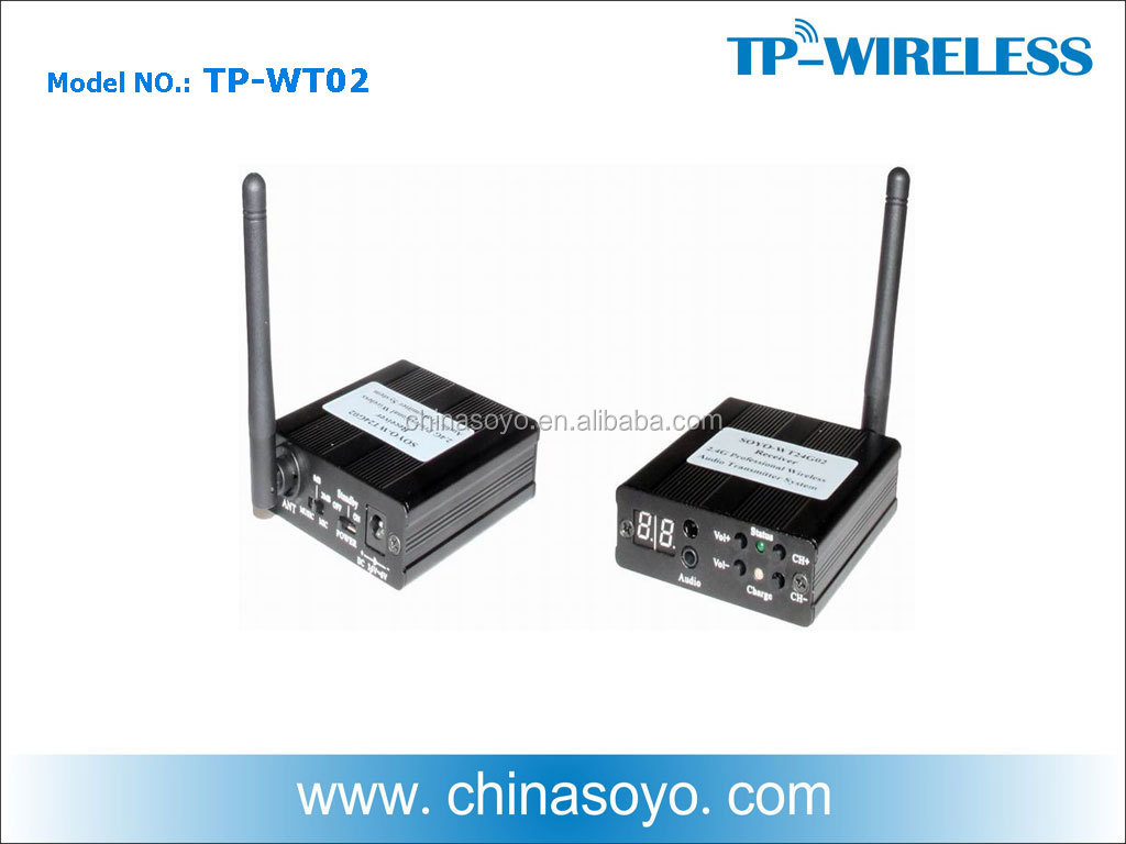 Wireless Audio Sender Transmitter & Receiver