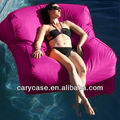 waterproof giant big size floating bean bag, high quality Melon beanbag outoor chair