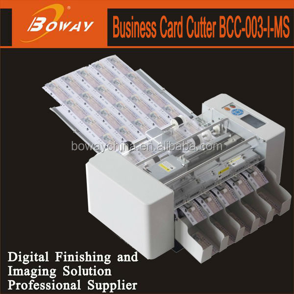 200pieces/min Multi function full auto A3+ Business card cutting machine