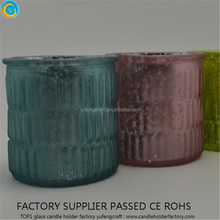 Heat Resistant Decorative Glass Candle Holders