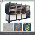 China high performance plastic shoe factory equipment KPU sport vamp maker machine with sensor