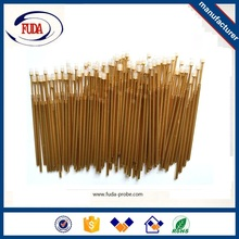 New model products cnc lathe machine parts copper contact pin with low price
