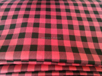 100% cotton check printed Flannel fabric,cotton flannel