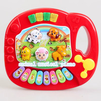 New Musical Educational Animal Farm Piano Music Toy for Baby Kids