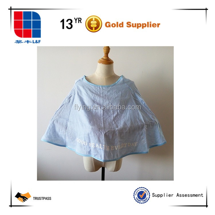Full Coverage Nursing Cover for Breastfeeding for Soft Breathable Cotton Cape Shape
