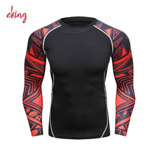 Lycra rash guard suit for men uv protection long sleeves shirt, windsurf, surfing swimsuit swimwear
