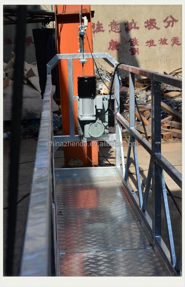 Scaffolding Steel Suppliers : Steel platform electric scaffolding zlp buy