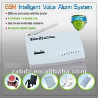Intelligent home security alarm system wireless (GSM)