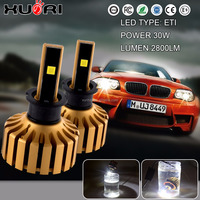Car Accessories Best Price high power10 ~ 32v super bright 6500k H3 headlight auto led light