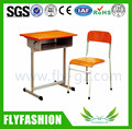 SF-09S Hot Sale Factory Price Double Face Single Student Desk and Chair/Used School Furniture for Sale/Adjustable Chair Desk